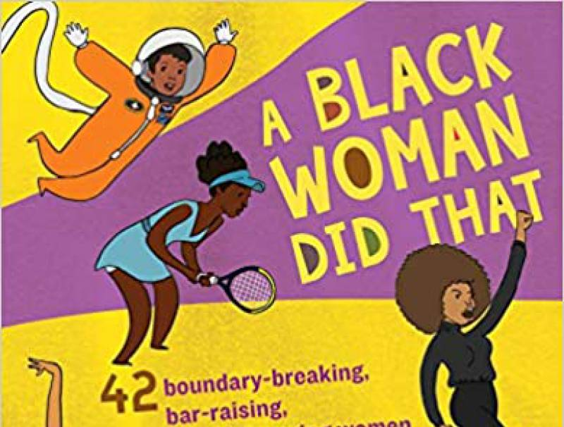 A Black woman did that book cover